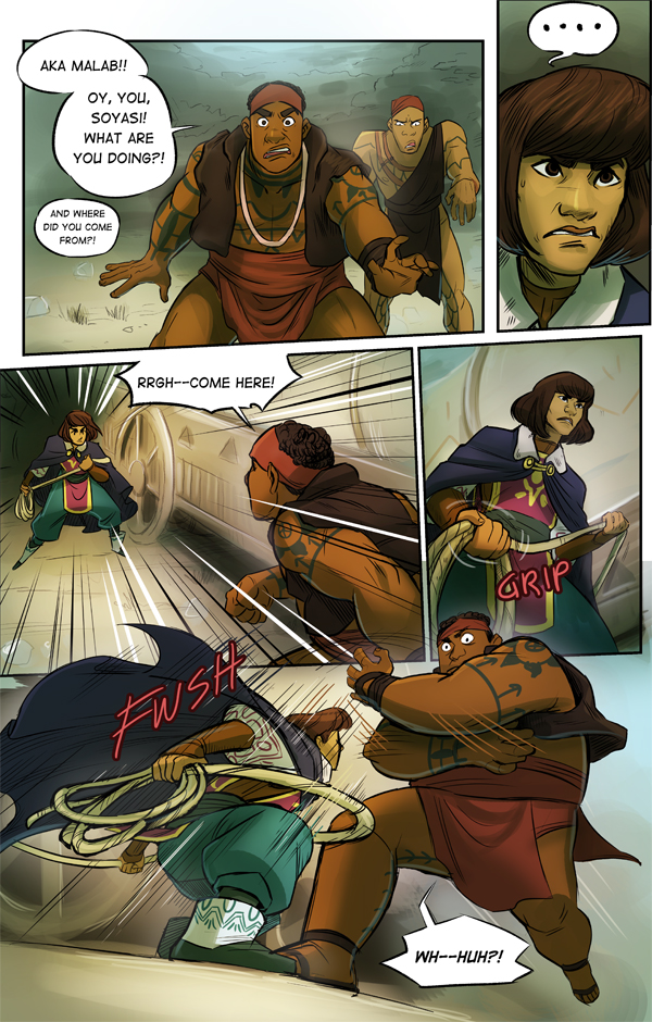 this fantasy comic has turned into a lady action comic plus bulky dudes