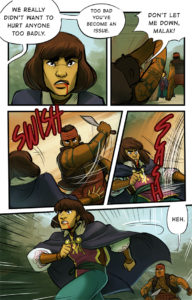 Chapter 1 Page 42 or Odessa doesn't want to fight anymore