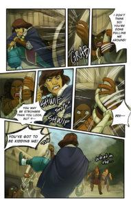 This fantasy comic finally continues. Eesh.
