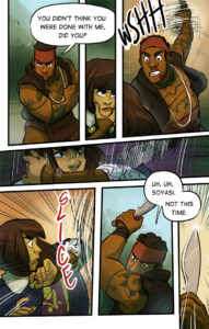 Page 41 and more fighting